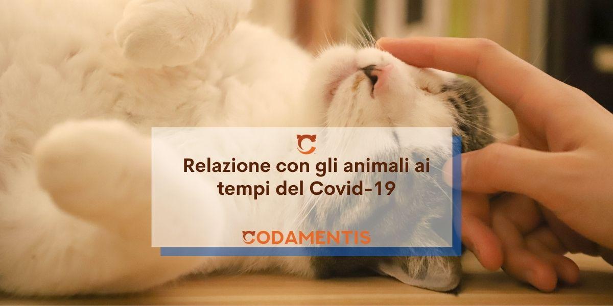 La relazione con gli animali da compagnia ai tempi del Covid-19