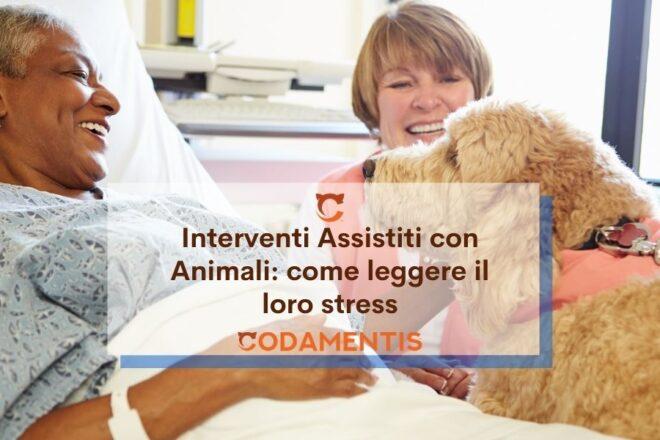 Stress nel cane da pet therapy