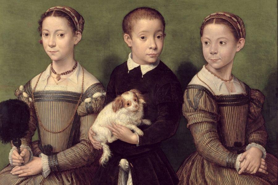 Sofonisba Anguissola progenitore della razze da compagnia